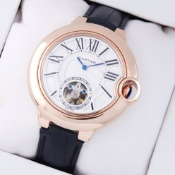 Ballon Bleu de Cartier Tourbillon Volant montres W6920001 or 18 carats rose
