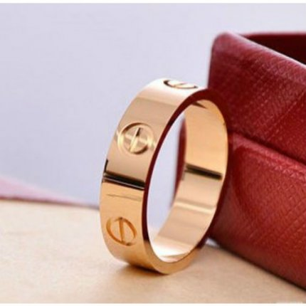 bague Cartier love B4084800 en or rose