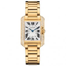 Cartier Tank Anglaise femmes WT100005 or jaune 18 carats