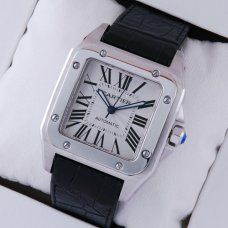 Cartier Santos 100 grand réplique montre suisse automatique de W20073X8