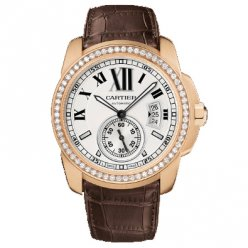 Calibre de Cartier montre automatique WF100005 or rose 18 carats