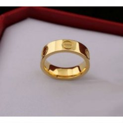 Cartier Bague love jaune B4084600 d'or