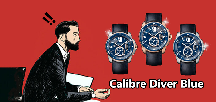 replik bleu calibre diver