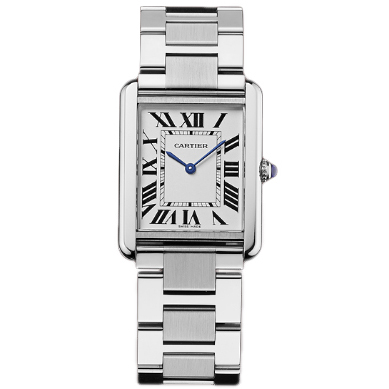 Cartier Tank Solo mens watch replica W5200014 stainless steel