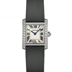 Cartier Tank Francaise donne orologi in acciaio WE100231