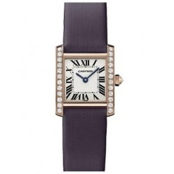Cartier Tank Francaise orologi diamante WE104531 oro rosa