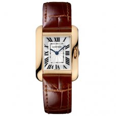Cartier Tank Anglaise watch for women W5310027 18K pink gold