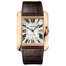 Cartier Tank Anglaise watch for men W5310004 18K pink gold