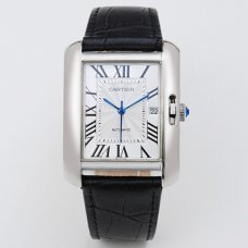 Cartier Tank Anglaise watch for men W5310033 18K white gold
